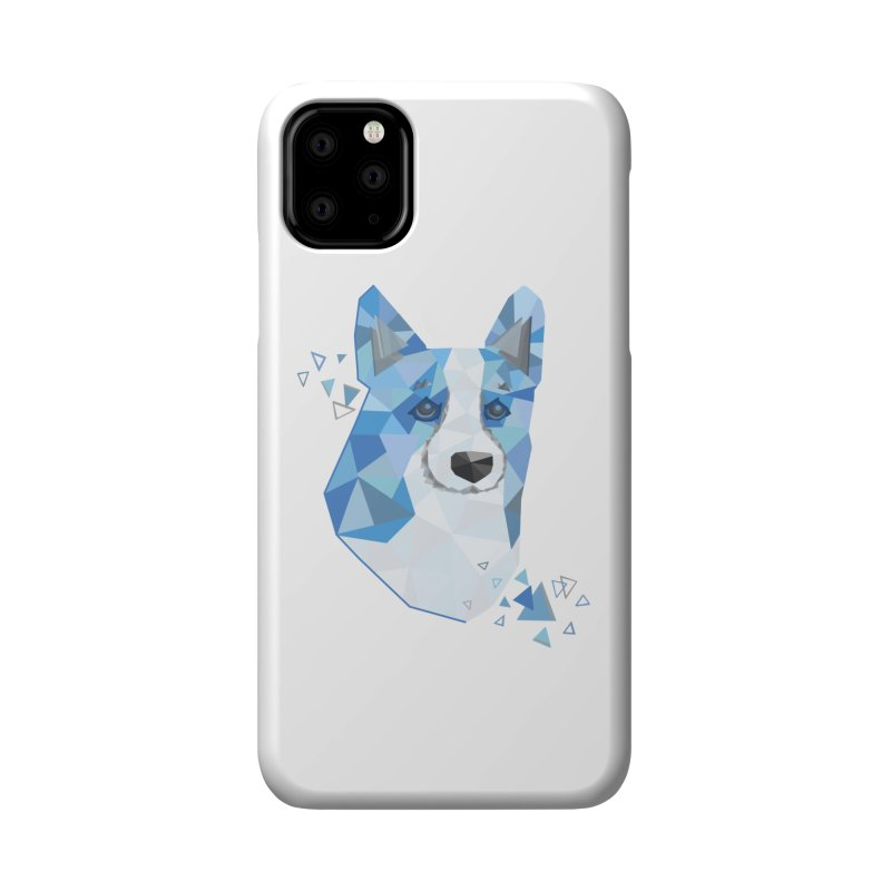 Geometric Corgi Accessories Phone Case by Corgi Tales Books