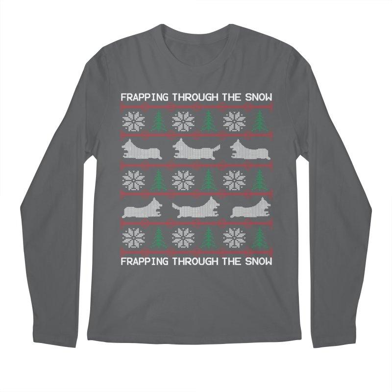 Corgi Holiday Sweater Men's Regular Longsleeve T-Shirt by Corgi Tales Books