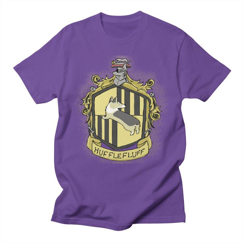 PotterCorgs - HuffleFluff Men's T-Shirt by Corgi Tales Books
