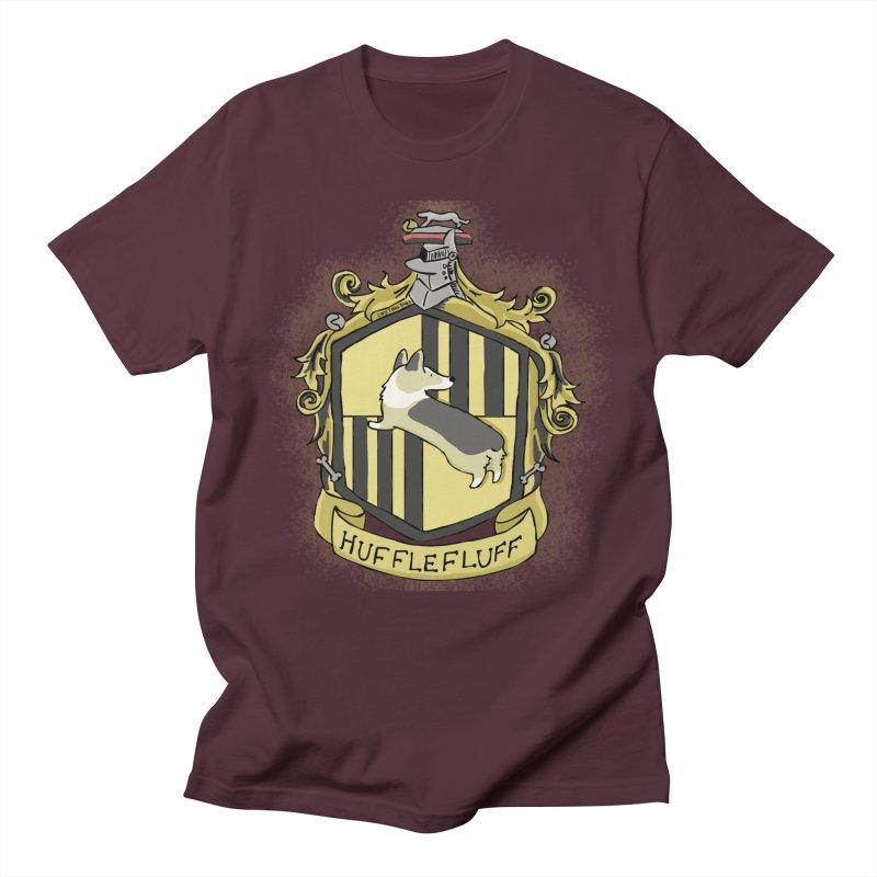 PotterCorgs - HuffleFluff Men's Regular T-Shirt by Corgi Tales Books