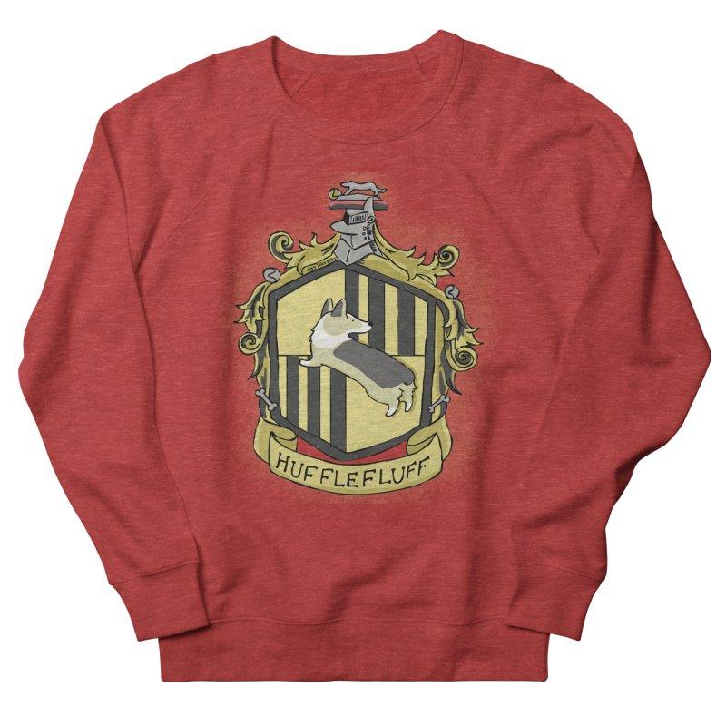 PotterCorgs - HuffleFluff Women's French Terry Sweatshirt by Corgi Tales Books