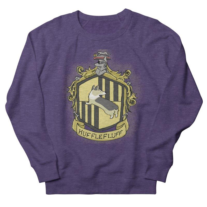 PotterCorgs - HuffleFluff Men's French Terry Sweatshirt by Corgi Tales Books