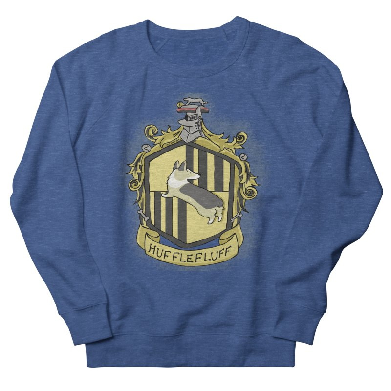 PotterCorgs - HuffleFluff Men's Sweatshirt by Corgi Tales Books