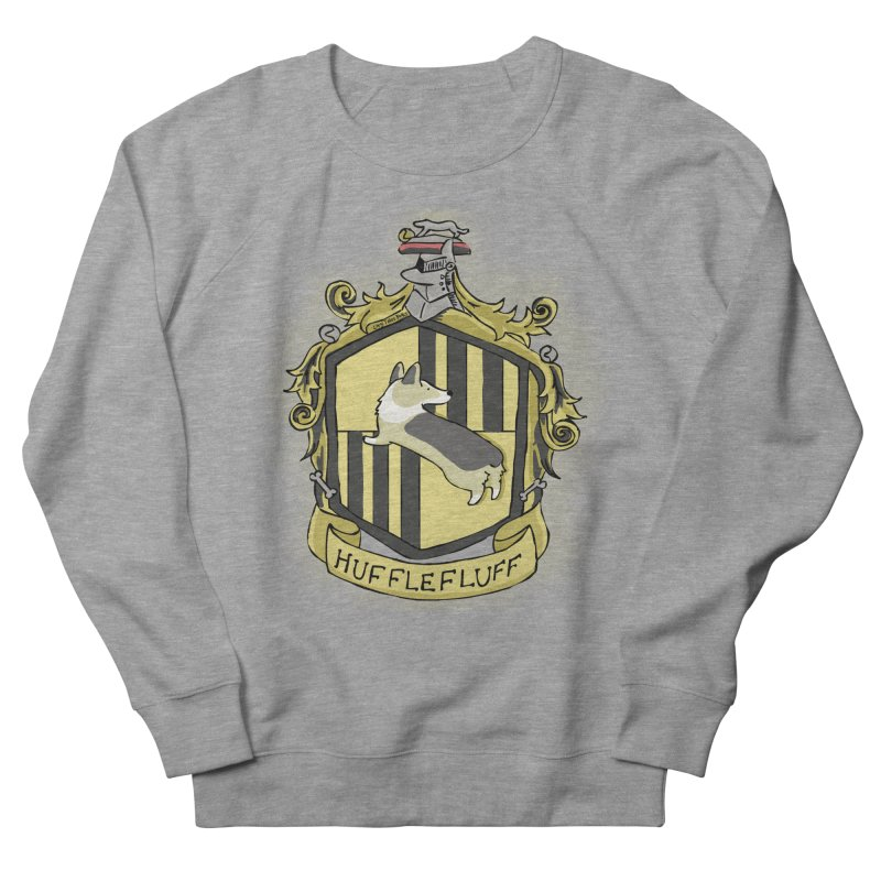 PotterCorgs - HuffleFluff Men's Sweatshirt by Corgi Tales Books