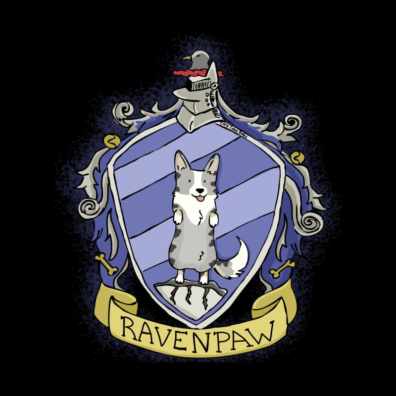 PotterCorgs - RavenPaw Men's T-Shirt by Corgi Tales Books