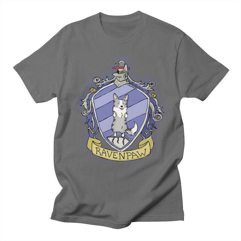 PotterCorgs - RavenPaw Men's T-Shirt by Corgi Tales Books