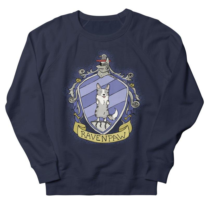 PotterCorgs - RavenPaw Men's French Terry Sweatshirt by Corgi Tales Books