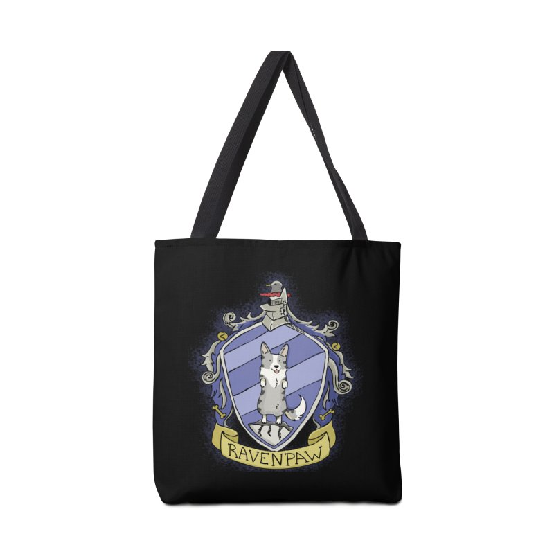 PotterCorgs - RavenPaw Accessories Bag by Corgi Tales Books