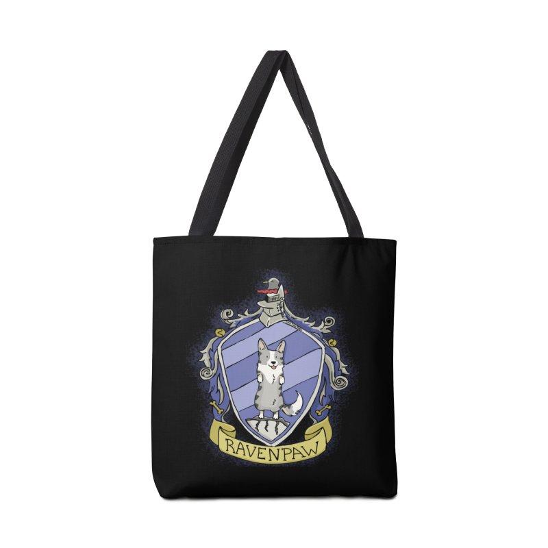 PotterCorgs - RavenPaw Accessories Tote Bag Bag by Corgi Tales Books