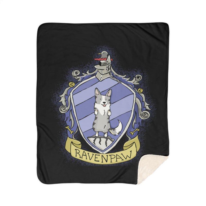 PotterCorgs - RavenPaw Home Sherpa Blanket Blanket by Corgi Tales Books