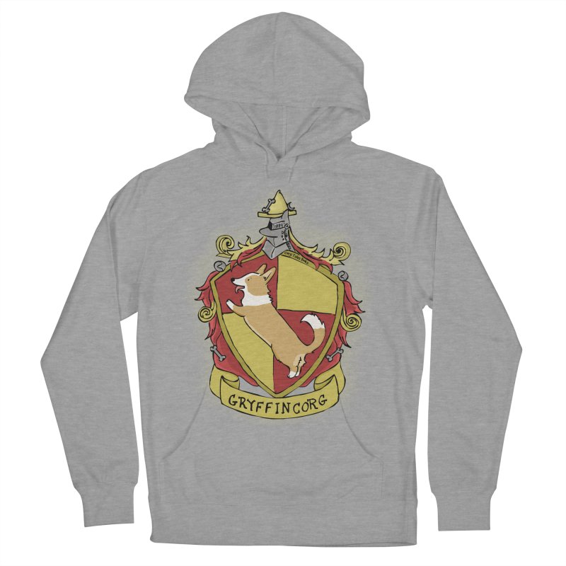 PotterCorgs - GryffinCorg Women's French Terry Pullover Hoody by Corgi Tales Books