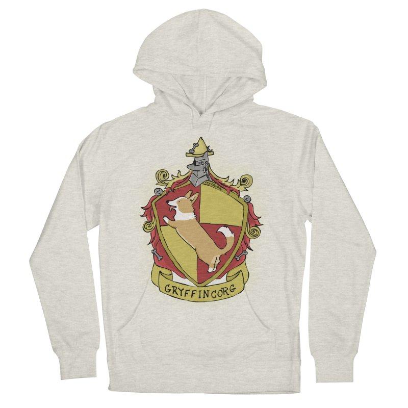PotterCorgs - GryffinCorg Men's Pullover Hoody by Corgi Tales Books