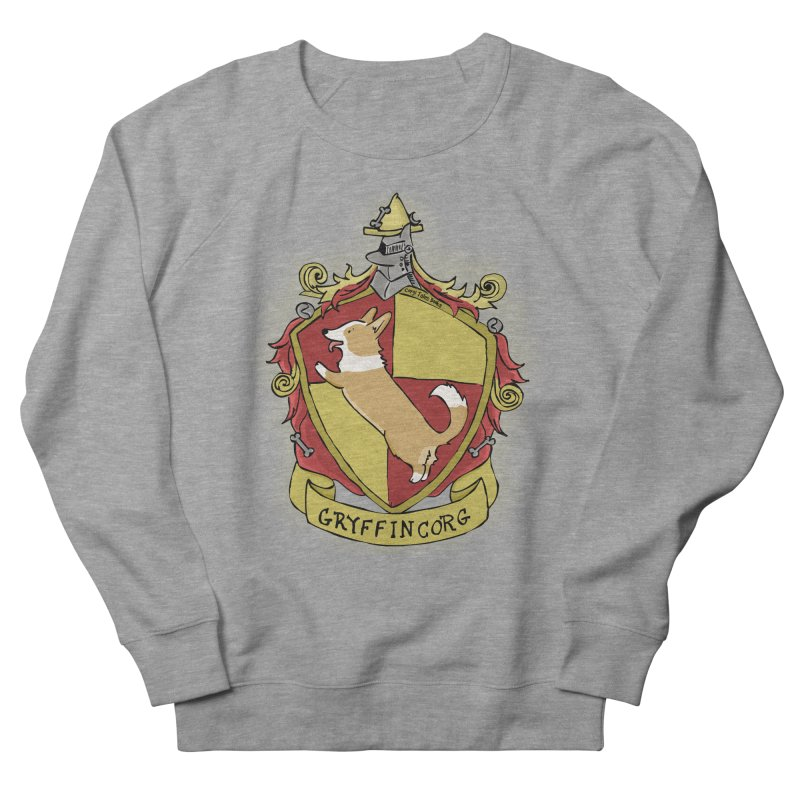 PotterCorgs - GryffinCorg Women's French Terry Sweatshirt by Corgi Tales Books