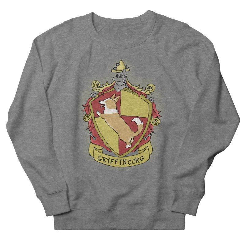 PotterCorgs - GryffinCorg Men's French Terry Sweatshirt by Corgi Tales Books