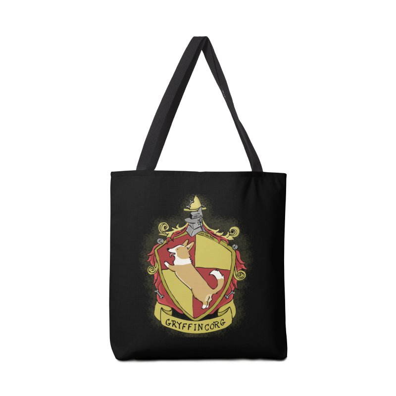 PotterCorgs - GryffinCorg Accessories Bag by Corgi Tales Books