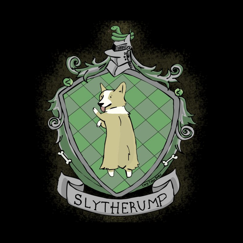 PotterCorgs - Slytherump Men's T-Shirt by Corgi Tales Books