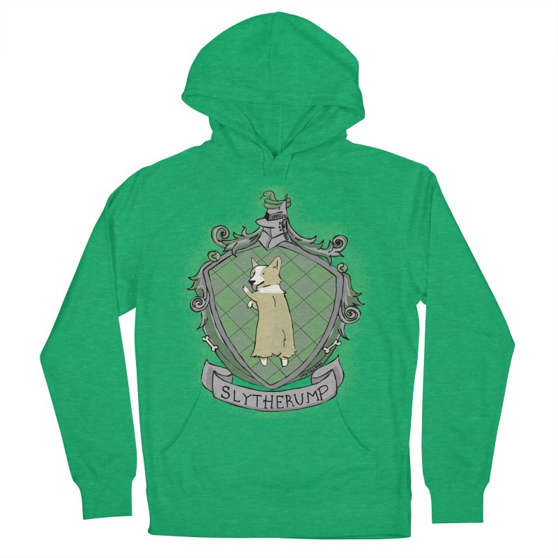 PotterCorgs - Slytherump Women's French Terry Pullover Hoody by Corgi Tales Books