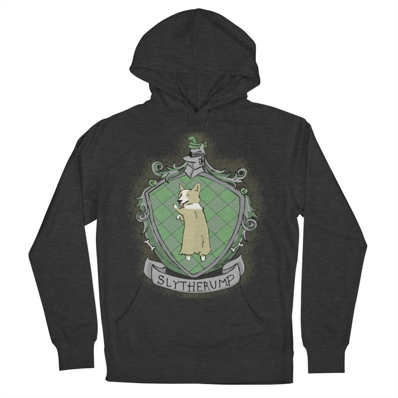 PotterCorgs - Slytherump Men's French Terry Pullover Hoody by Corgi Tales Books