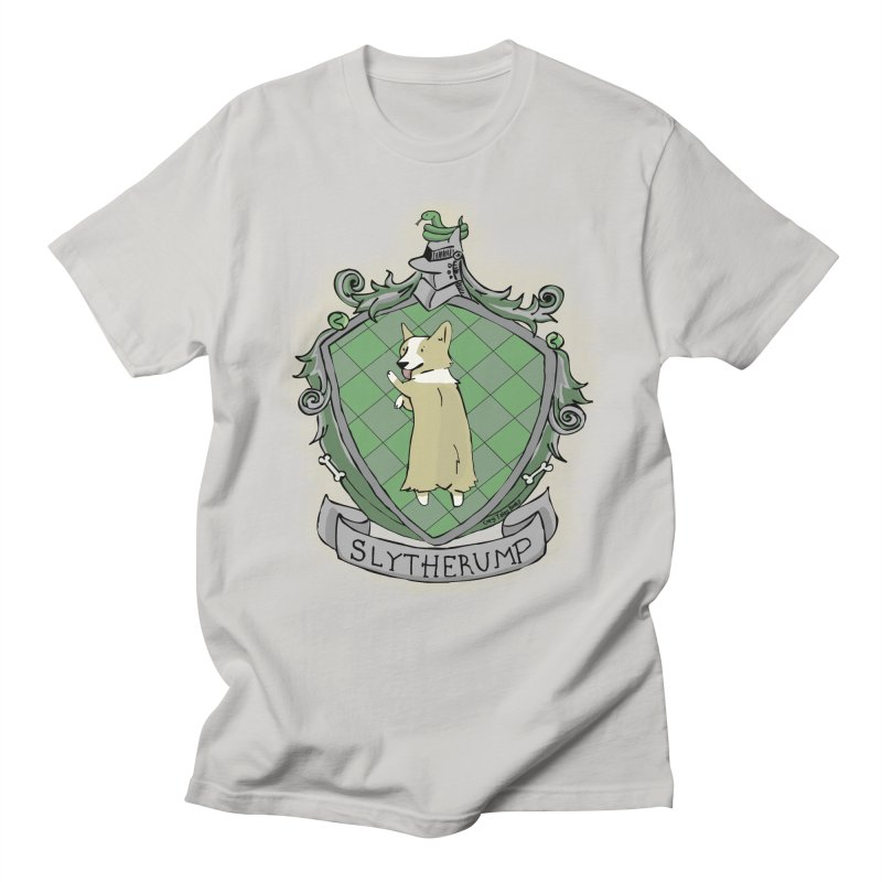 PotterCorgs - Slytherump Men's Regular T-Shirt by Corgi Tales Books