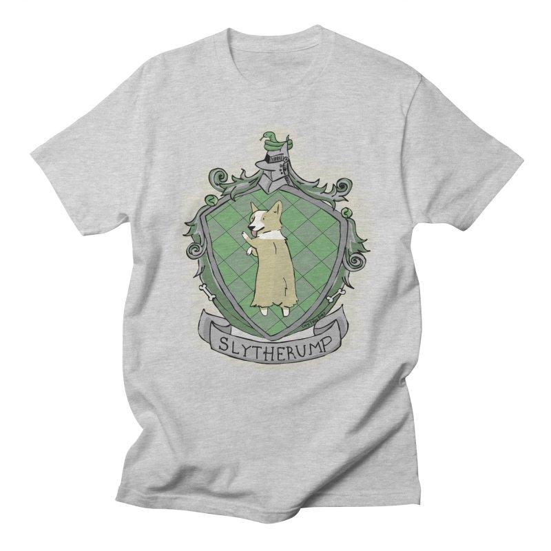PotterCorgs - Slytherump Men's Regular T-Shirt by Corgi Tales Books