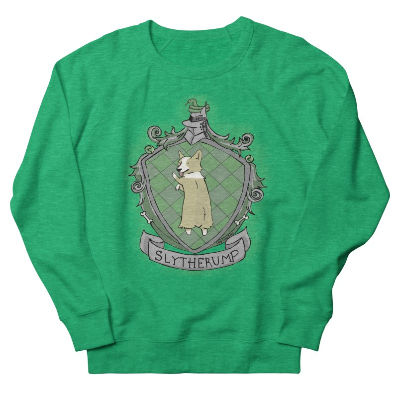 PotterCorgs - Slytherump Women's French Terry Sweatshirt by Corgi Tales Books