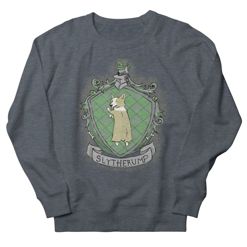 PotterCorgs - Slytherump Men's French Terry Sweatshirt by Corgi Tales Books