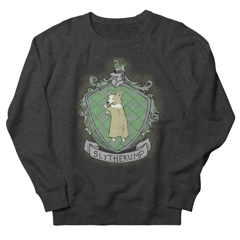 PotterCorgs - Slytherump Men's Sweatshirt by Corgi Tales Books