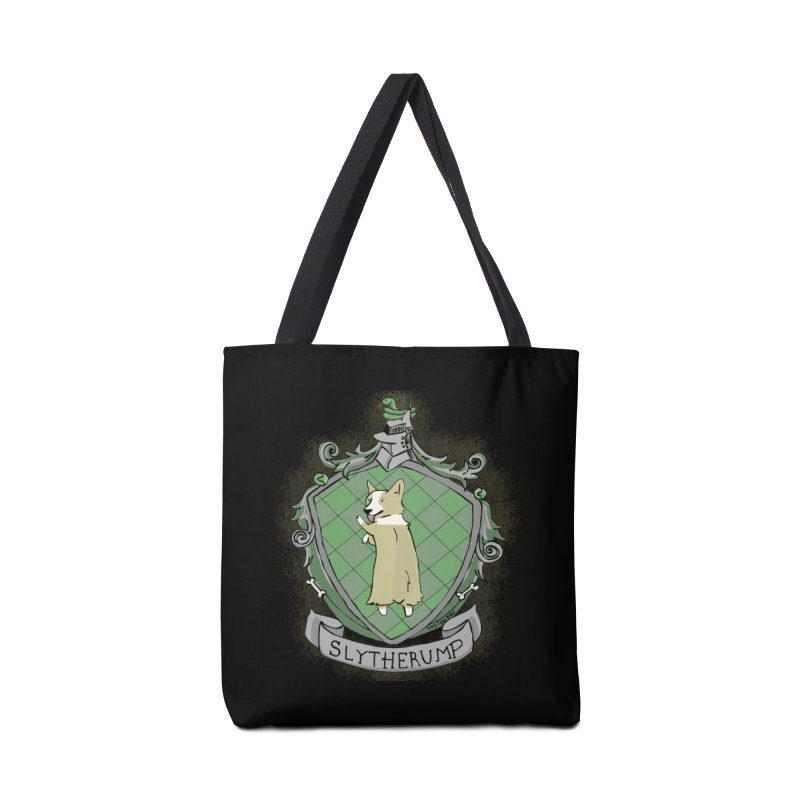 PotterCorgs - Slytherump Accessories Bag by Corgi Tales Books