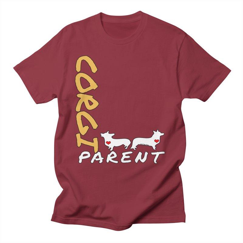 Corgi Parent Men's T-Shirt by Corgi Tales Books