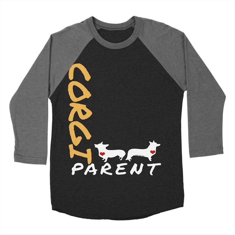Corgi Parent Women's Baseball Triblend T-Shirt by Corgi Tales Books