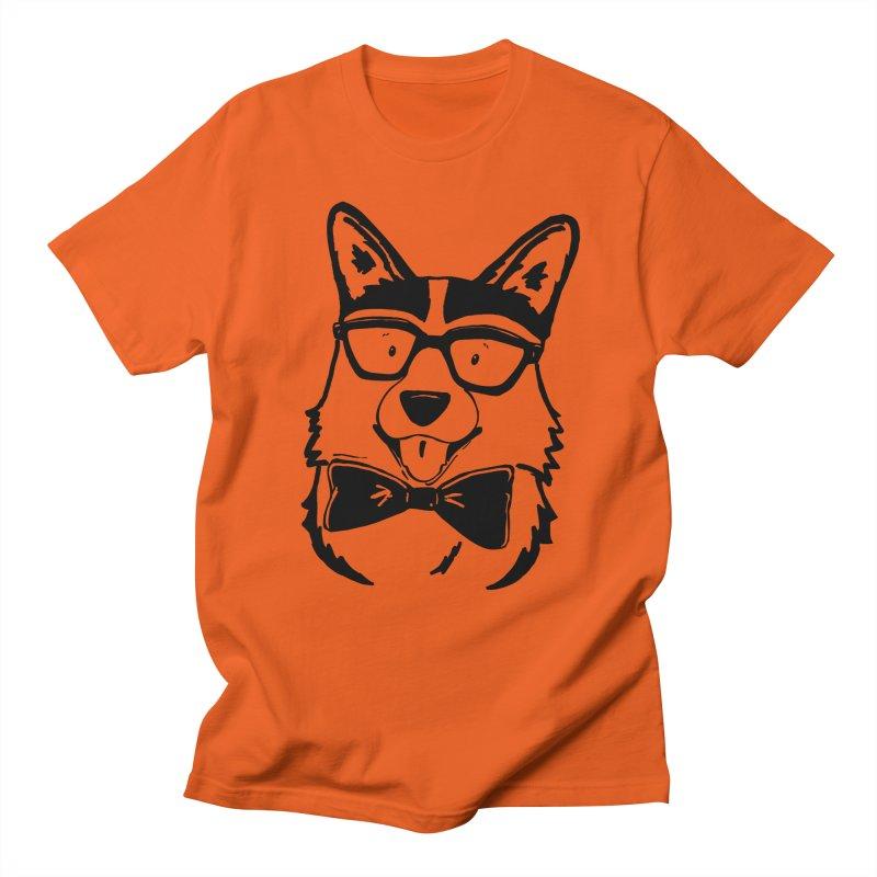 Bowtie Corgi Men's T-Shirt by Corgi Tales Books