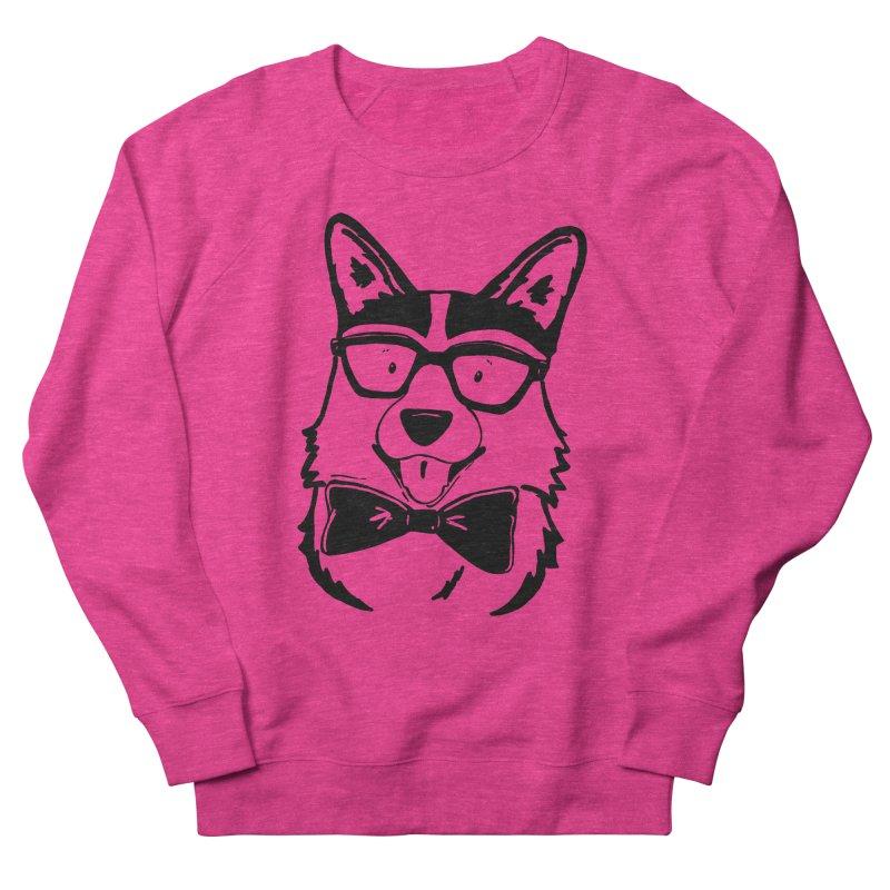 Bowtie Corgi Women's Sweatshirt by Corgi Tales Books