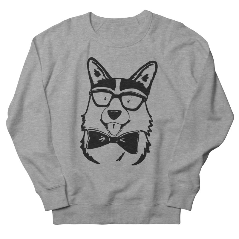 Bowtie Corgi Men's Sweatshirt by Corgi Tales Books