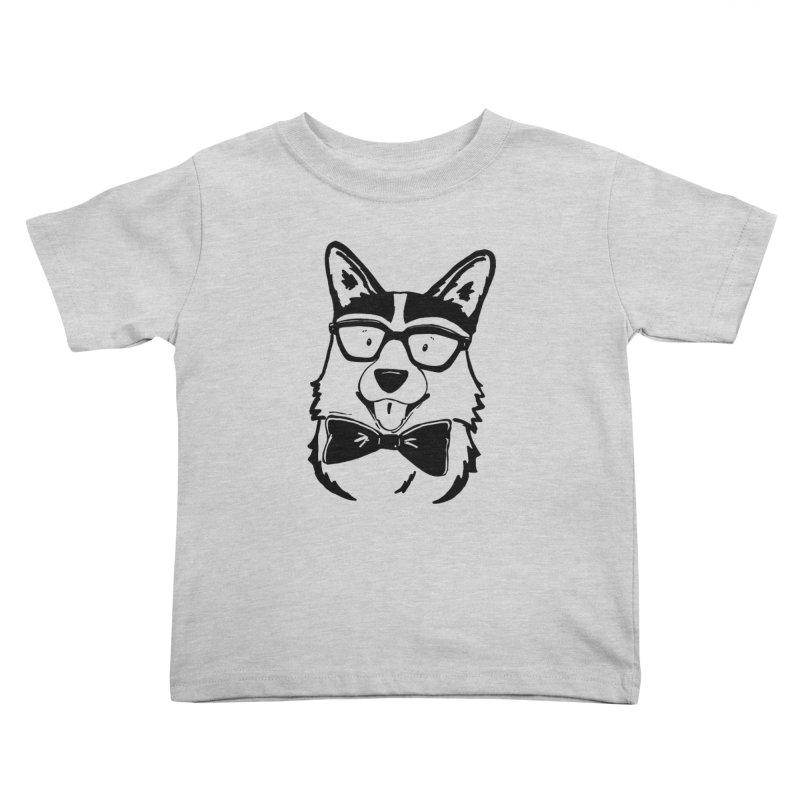 Bowtie Corgi Kids Toddler T-Shirt by Corgi Tales Books