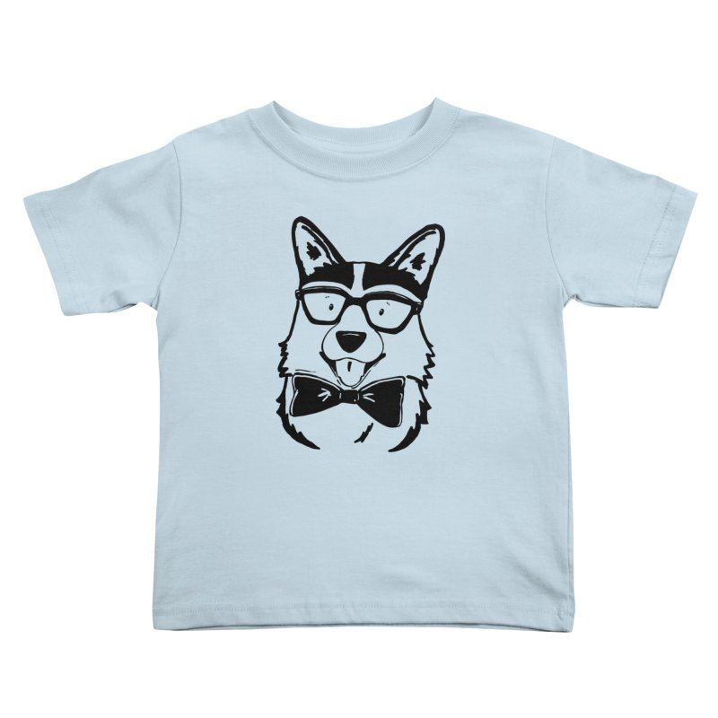 Bowtie Corgi Kids Toddler T-Shirt by Corgi Tales Books