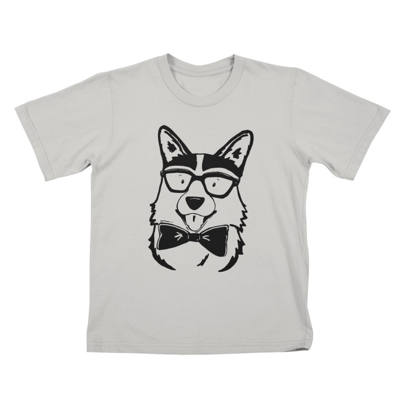 Bowtie Corgi Kids T-Shirt by Corgi Tales Books