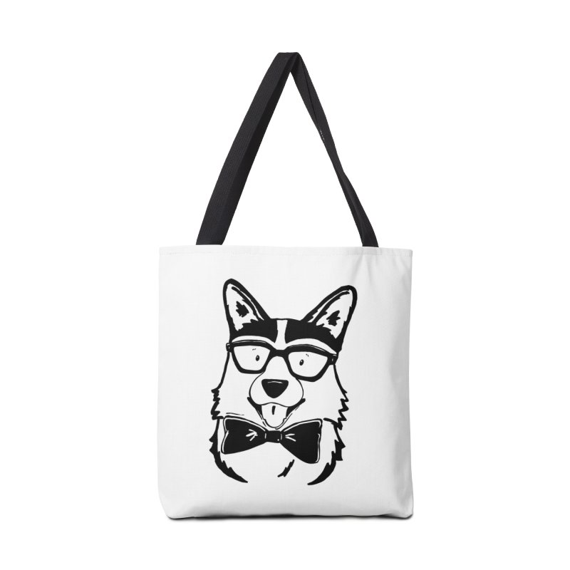 Bowtie Corgi Accessories Bag by Corgi Tales Books