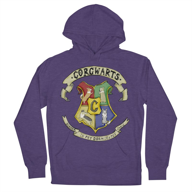 Corgwarts Crest Women's Pullover Hoody by Corgi Tales Books