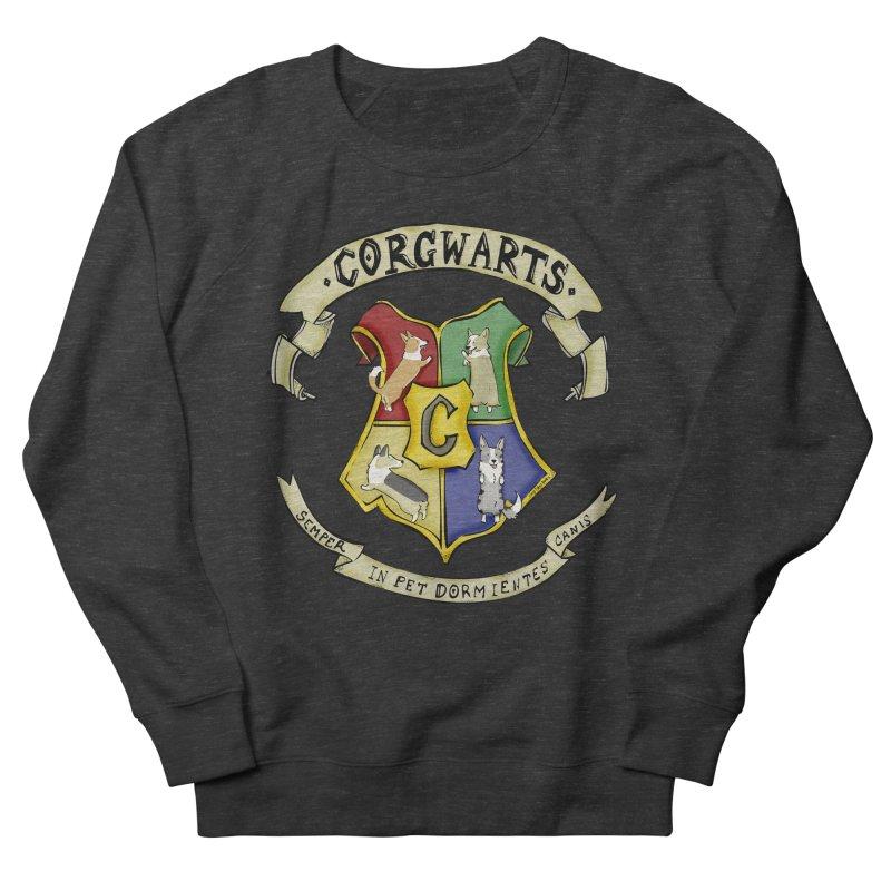 Corgwarts Crest Women's Sweatshirt by Corgi Tales Books