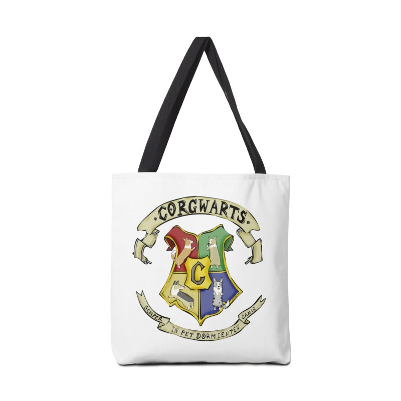 Corgwarts Crest Accessories Bag by Corgi Tales Books