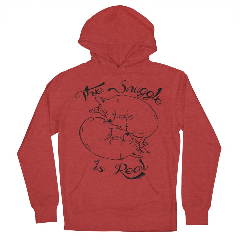 The Snuggle is Real Women's Pullover Hoody by Corgi Tales Books