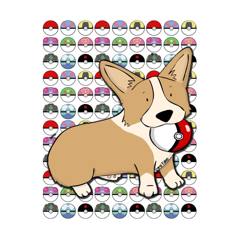 PokeCorg Women's V-Neck by Corgi Tales Books