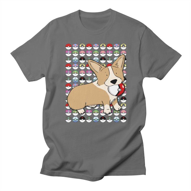 PokeCorg Men's T-Shirt by Corgi Tales Books