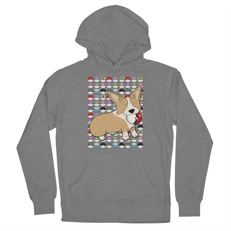 PokeCorg Women's Pullover Hoody by Corgi Tales Books