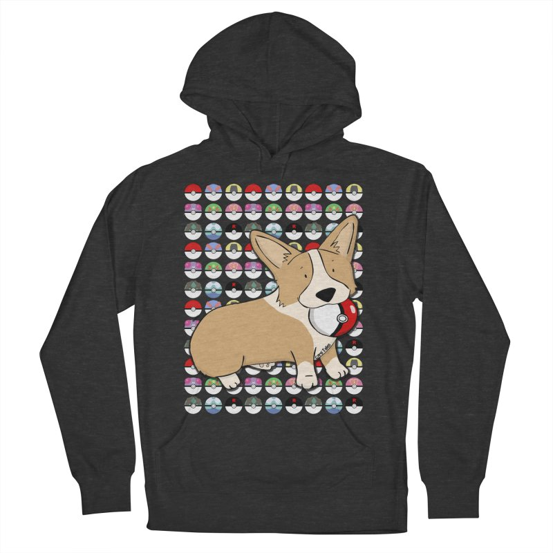 PokeCorg Women's French Terry Pullover Hoody by Corgi Tales Books