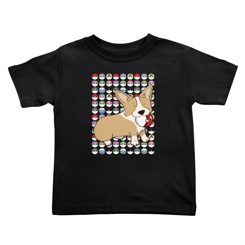 PokeCorg Kids Toddler T-Shirt by Corgi Tales Books
