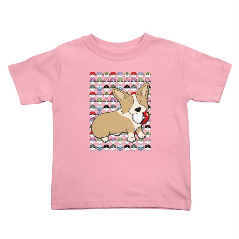 PokeCorg Kids Toddler T-Shirt by Corgi Tales Books