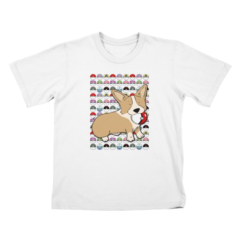 PokeCorg Kids T-Shirt by Corgi Tales Books