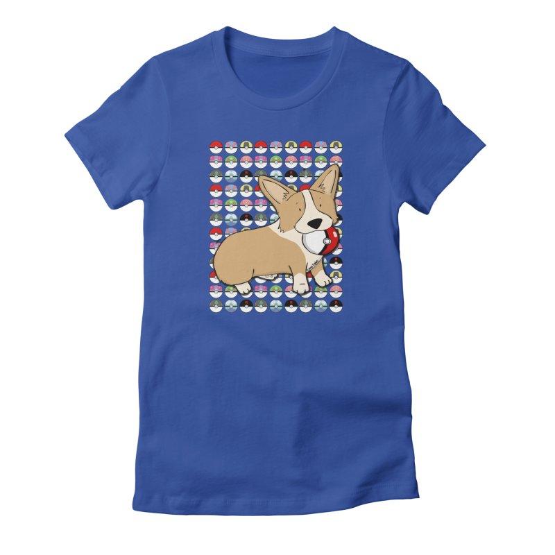 PokeCorg Women's T-Shirt by Corgi Tales Books