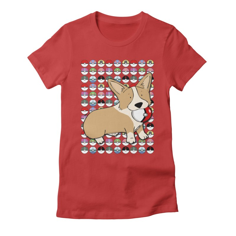 PokeCorg Women's T-Shirt by Corgi Tales Books